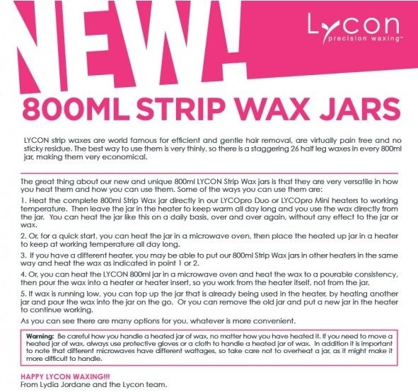 NEW SIZE LYCON